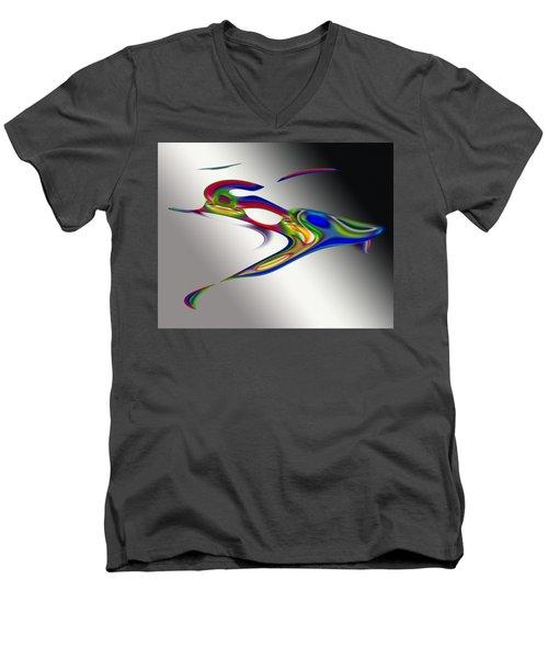 Psp4066 Men's V-Neck T-Shirt
