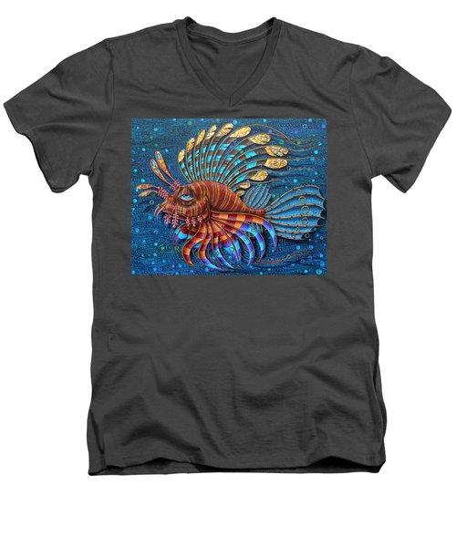 Pterois Men's V-Neck T-Shirt