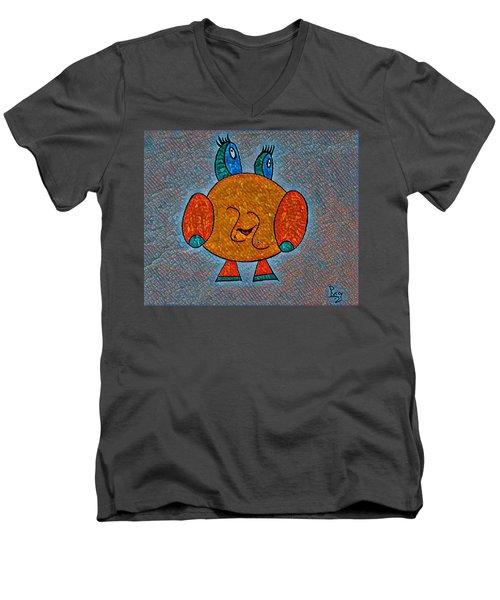 Puccy Men's V-Neck T-Shirt