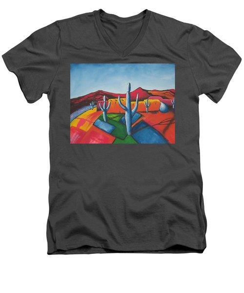 Pueblo Men's V-Neck T-Shirt