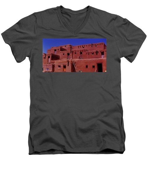 Pueblo Living Men's V-Neck T-Shirt