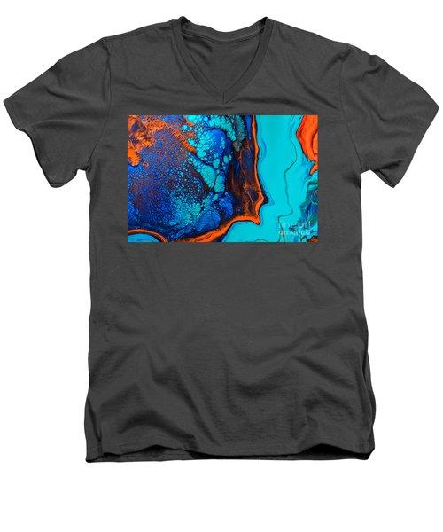 Puffer Fish Men's V-Neck T-Shirt
