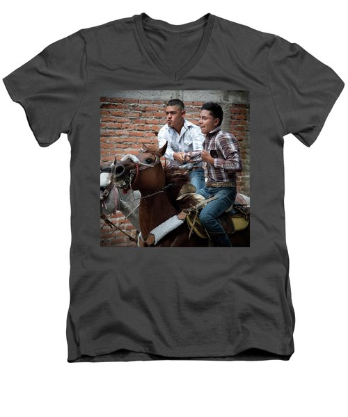 Pull Me If You Can Men's V-Neck T-Shirt