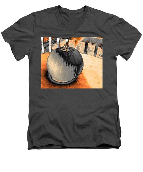 Pumpkin #2 Men's V-Neck T-Shirt