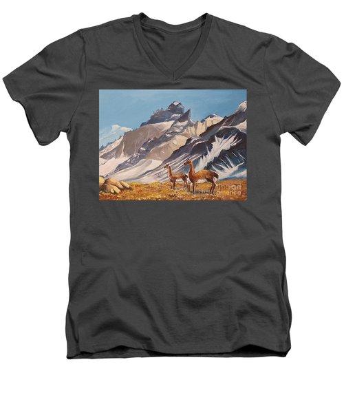 Puna De Atacama Men's V-Neck T-Shirt