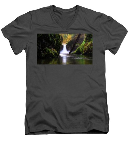 Punch Bowl  Men's V-Neck T-Shirt
