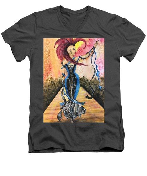 Punk Rock Opera Men's V-Neck T-Shirt