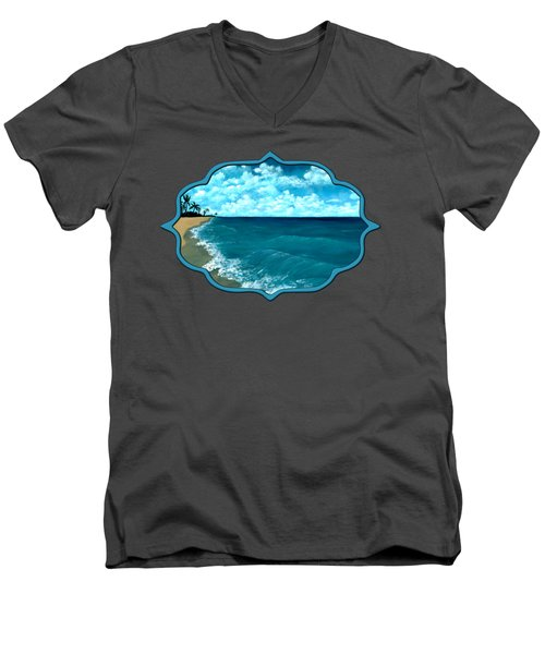 Punta Cana Beach Men's V-Neck T-Shirt