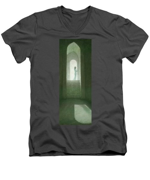 Pure Light Men's V-Neck T-Shirt