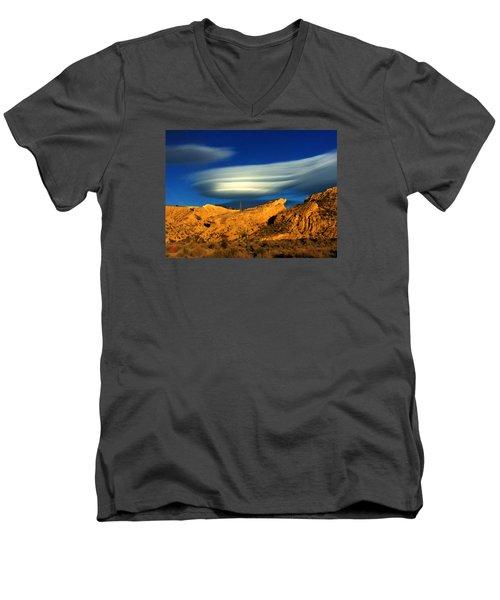 Pure Nature Spain  Men's V-Neck T-Shirt by Colette V Hera Guggenheim