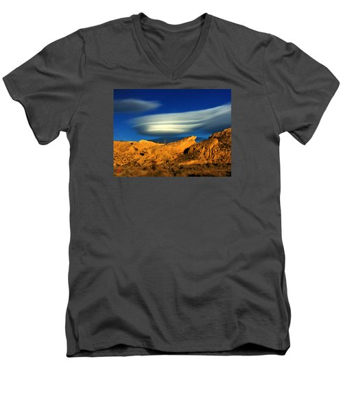 Pure Nature Spain  Men's V-Neck T-Shirt