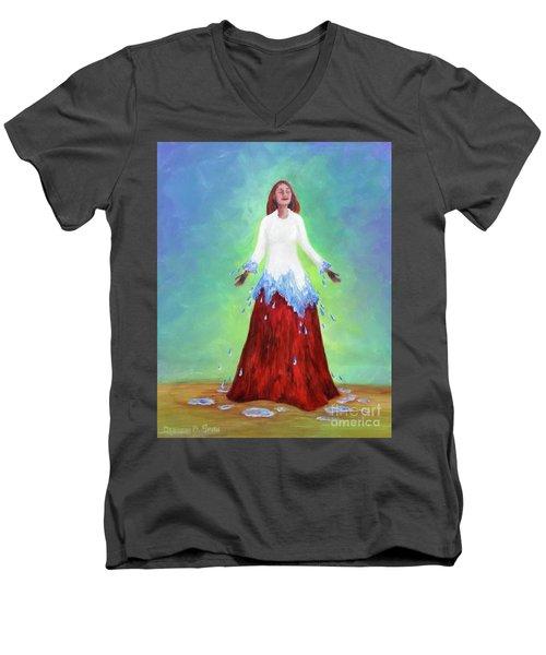 Purification Men's V-Neck T-Shirt