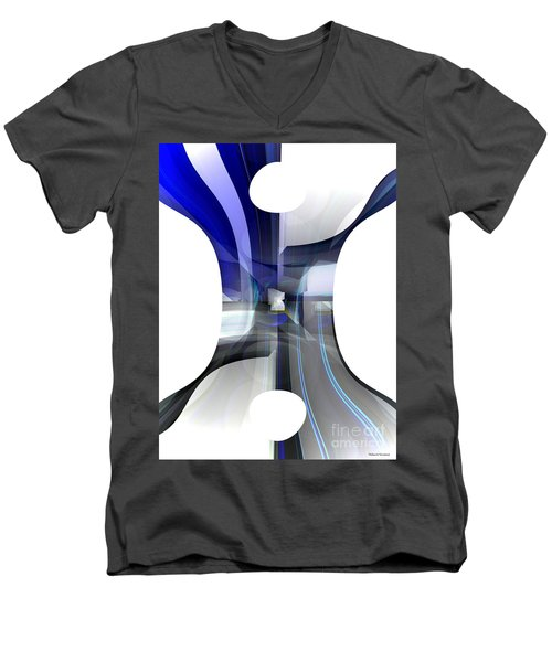Purity Men's V-Neck T-Shirt by Thibault Toussaint