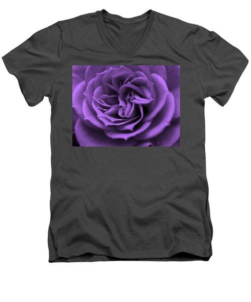 Purple Bliss Men's V-Neck T-Shirt