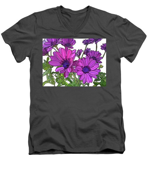 Purple Days Men's V-Neck T-Shirt