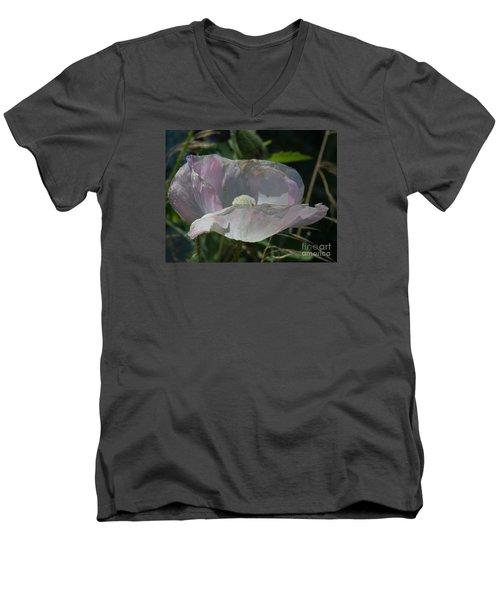 Purple Flower 4 Men's V-Neck T-Shirt