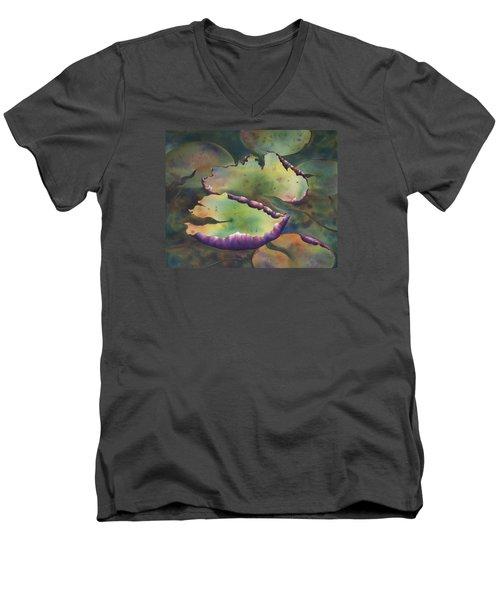 Purple Linings I Men's V-Neck T-Shirt