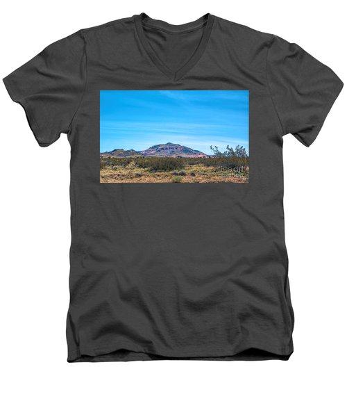 Purple Mountain Men's V-Neck T-Shirt
