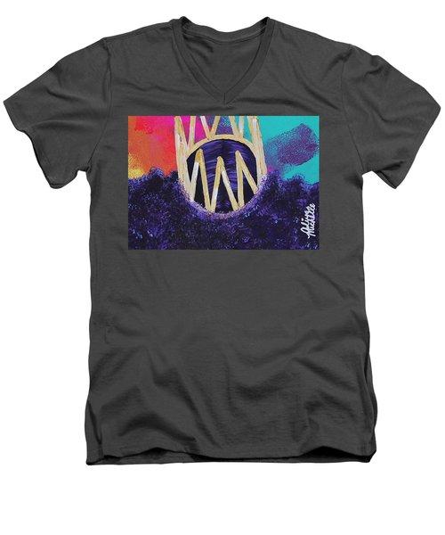 Purple Reign  Men's V-Neck T-Shirt