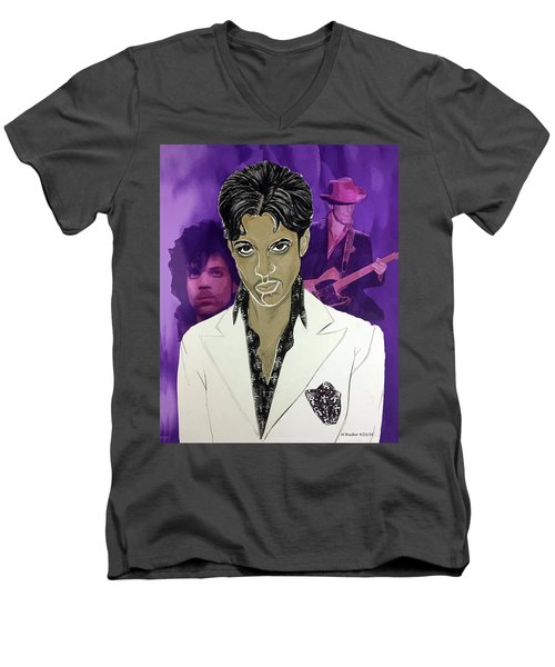Purple Reign 1959 - 2016 Men's V-Neck T-Shirt