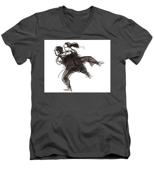 Puzzle Pieces One Men's V-Neck T-Shirt