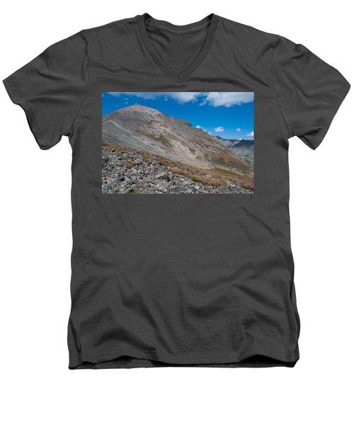 Quandary Peak Men's V-Neck T-Shirt