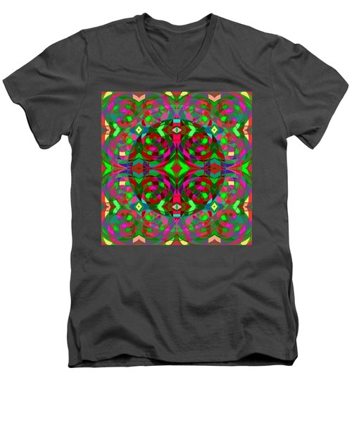 Quantum Portal C Open Men's V-Neck T-Shirt
