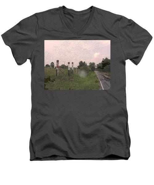 Queen Anne Road Men's V-Neck T-Shirt
