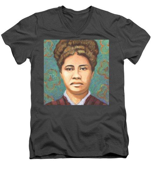 Queen Liliuokalani Men's V-Neck T-Shirt