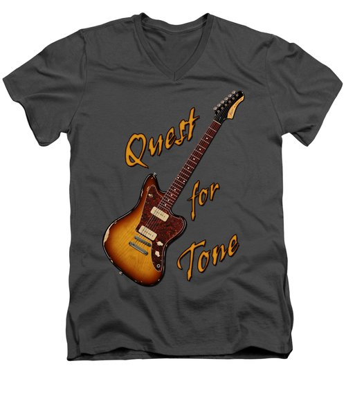 Quest For Tone Men's V-Neck T-Shirt