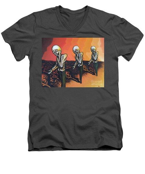 Question To Wonder Men's V-Neck T-Shirt