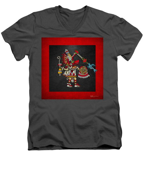 Quetzalcoatl - Codex Magliabechiano Men's V-Neck T-Shirt