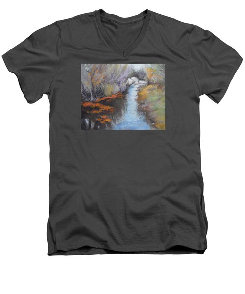 Quiet Arrival Men's V-Neck T-Shirt