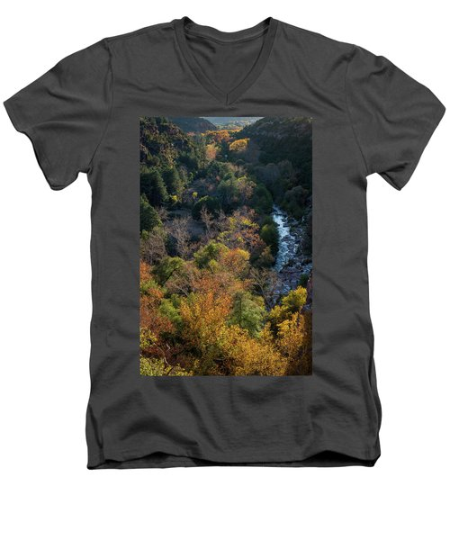 Quiet Canyon Men's V-Neck T-Shirt