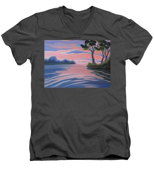 Quiet Evening Men's V-Neck T-Shirt