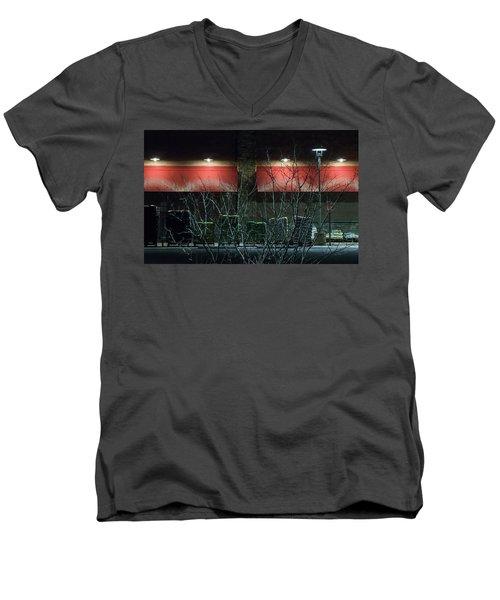 Quiet Night - Men's V-Neck T-Shirt