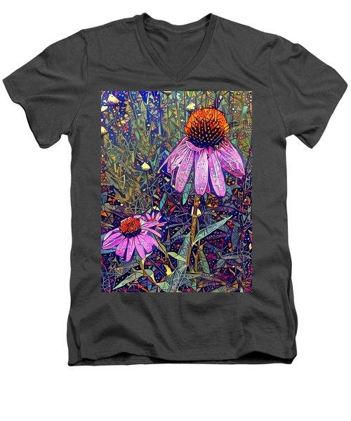 Quite Contrary  Men's V-Neck T-Shirt
