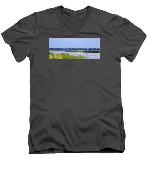 Quivira Refuge Men's V-Neck T-Shirt