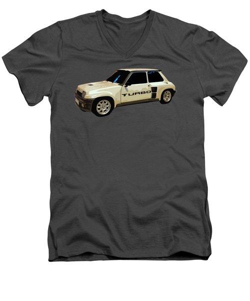 R Turbo Art Men's V-Neck T-Shirt