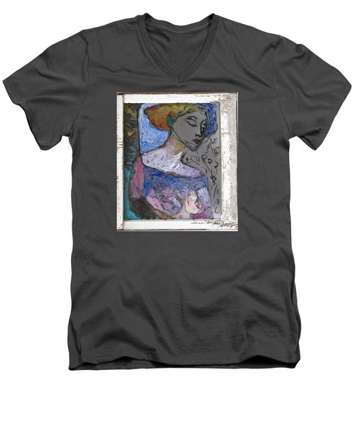Rachel Men's V-Neck T-Shirt