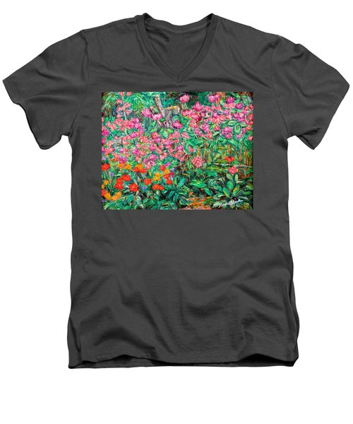 Radford Flower Garden Men's V-Neck T-Shirt