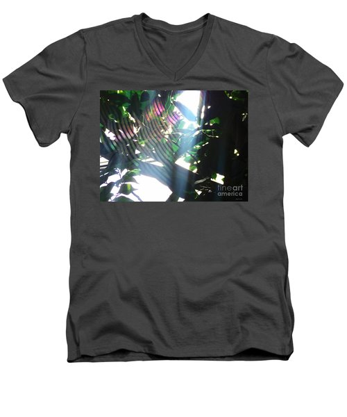 Men's V-Neck T-Shirt featuring the photograph Radiance by Megan Dirsa-DuBois