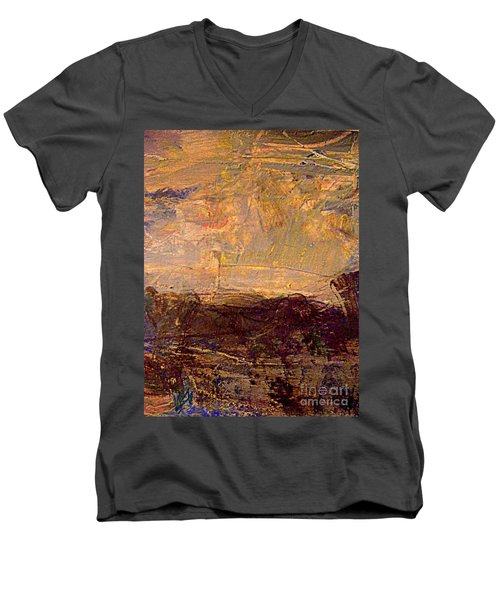 Radiant Light Men's V-Neck T-Shirt by Nancy Kane Chapman