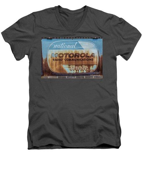 Radio Communications Men's V-Neck T-Shirt