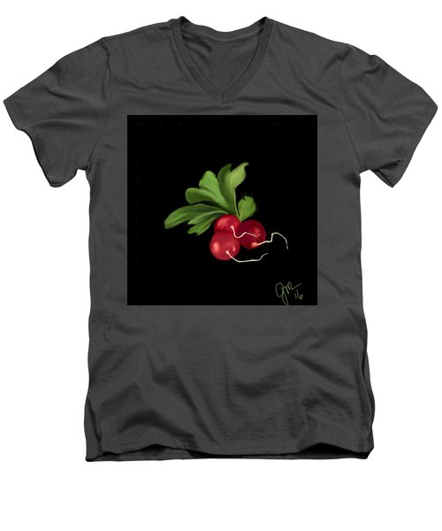 Radishes Men's V-Neck T-Shirt