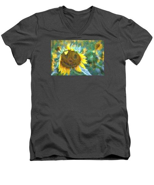 Rag A Muffin Painting Men's V-Neck T-Shirt