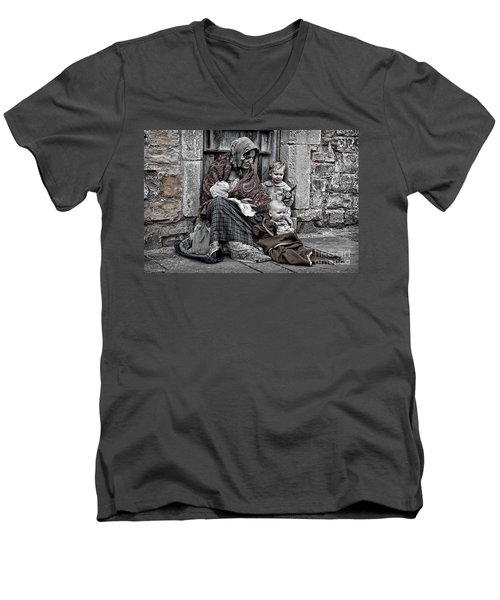 Ragged Victorians 2 Men's V-Neck T-Shirt