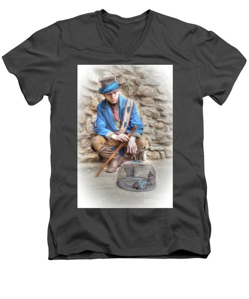 Ragged Victorians - The Rat Catcher Men's V-Neck T-Shirt
