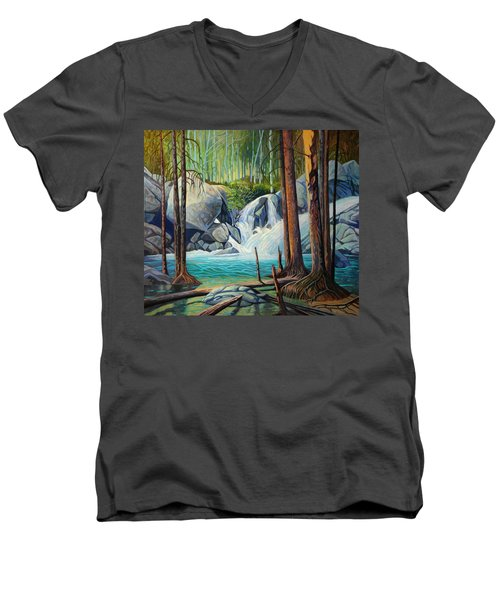 Raging Solitude Men's V-Neck T-Shirt