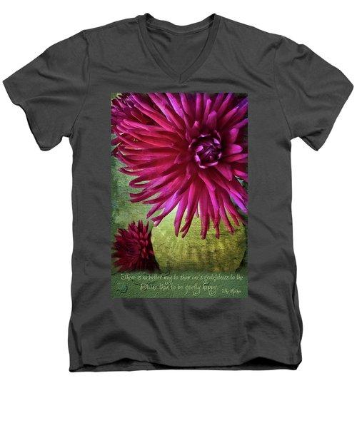 Rai Love Men's V-Neck T-Shirt